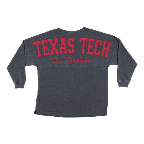Chicka-d Women's Texas Tech University French Terry Varsity Jersey