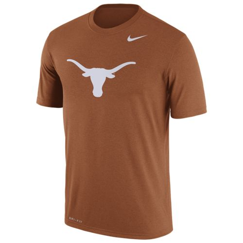 Nike Men's University of Texas Dri-FIT Legend Logo Short Sleeve T-shirt