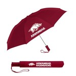 Storm Duds Adults' University of Arkansas Automatic Folding Umbrella - view number 1