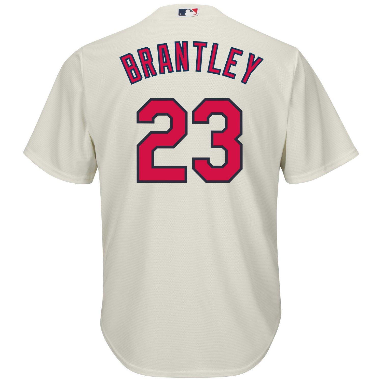 Majestic Men's Cleveland Indians Michael Brantley #23 Cool