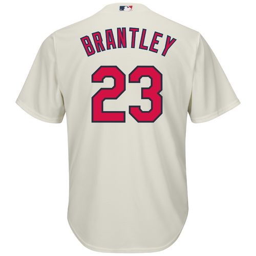 Majestic Men's Cleveland Indians Michael Brantley #23 Cool Base Replica Jersey