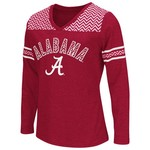 Colosseum Athletics™ Girls' University of Alabama Cupie Long Sleeve T-shirt