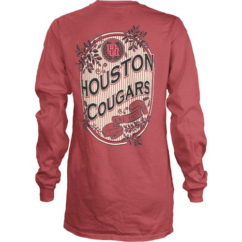 Three Squared Juniors' University of Houston Maya Long Sleeve T-shirt