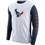 Nike Men's Houston Texans Champ Drive 2.0 Long Sleeve T-shirt