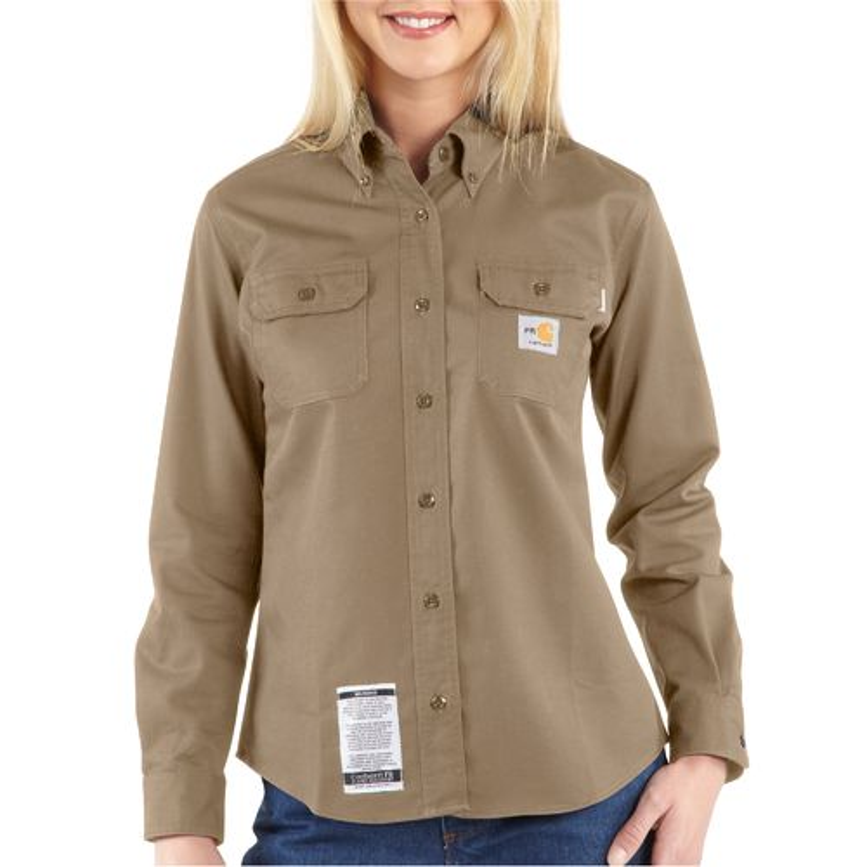 Carhartt Women's Flame Resistant Twill Shirt