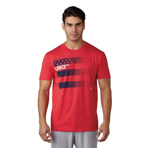 adidas Men's Team USA 3-Stripe Olympic T-shirt