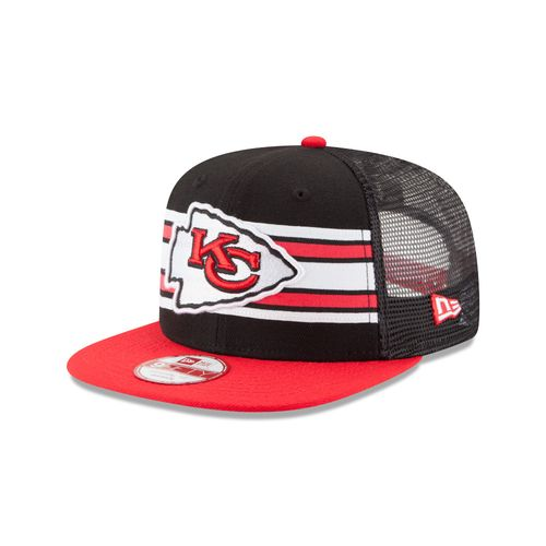 New Era Men's Kansas City Chiefs Throwback Stripe 9FIFTY® Cap