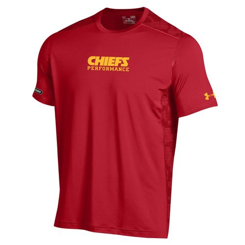 Under Armour™ NFL Combine Authentic Men's Kansas City Chiefs Raid Short Sleeve T-shirt - view number 1