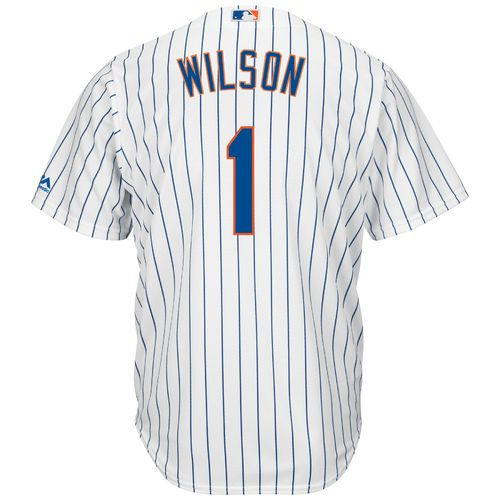 Majestic Men's New York Mets Mookie Wilson #1 Cool Base Replica Jersey