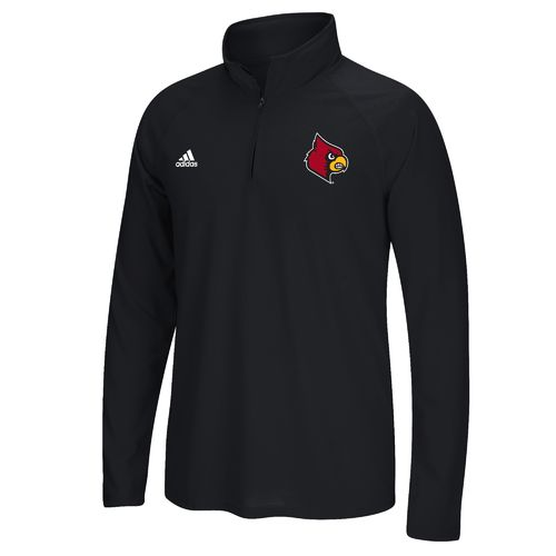 adidas™ Men's University of Louisville climalite® 1/4 Zip Pullover