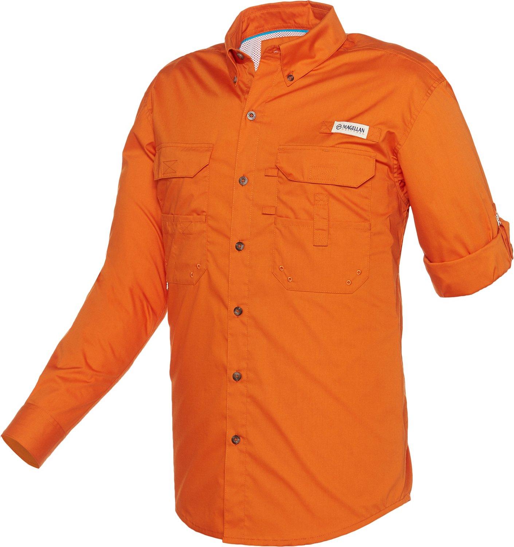 Display product reviews for Magellan Outdoors Men's Lake Fork Poplin Fishing Shirt