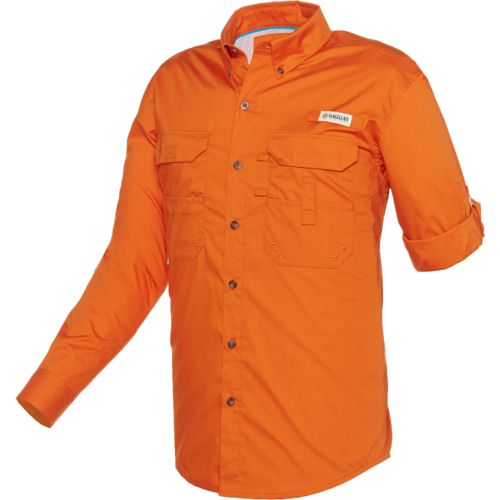 Magellan Outdoors™ Men's Lake Fork Poplin Fishing Shirt