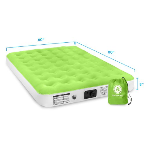 Air Comfort Dream Easy Queen-Size Air Mattress with Built-In Electric Pump - view number 9