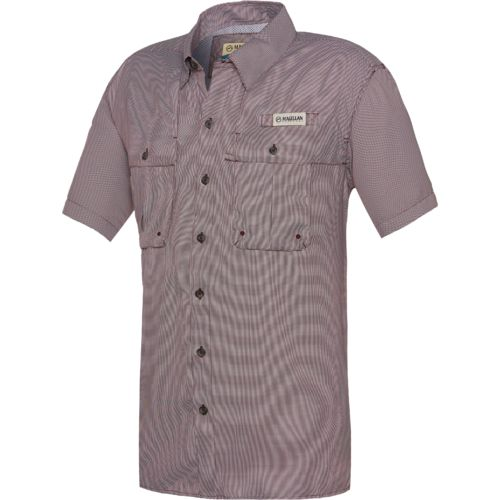 Magellan Outdoors Men's Aransas Pass Short Sleeve Fishing Shirt - view number 1