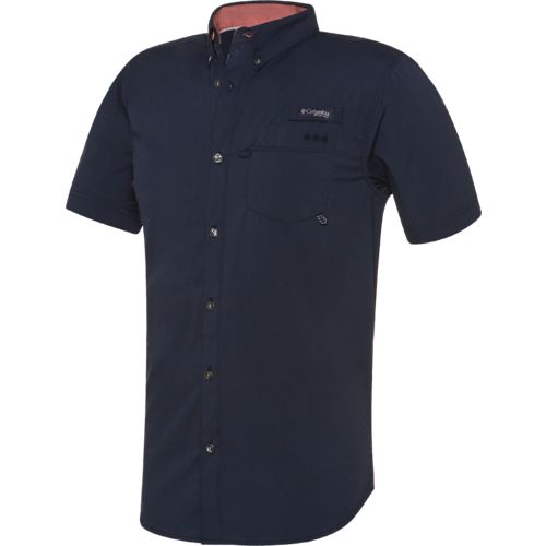 Columbia Sportswear Men's Harborside Woven Short Sleeve Shirt - view number 1