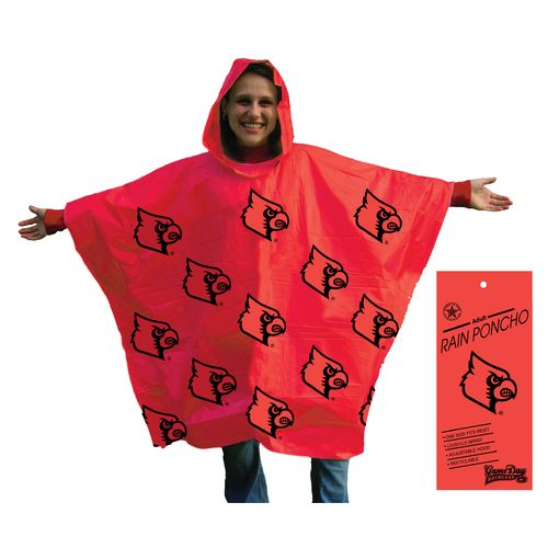 Storm Duds Adults' University of Louisville Lightweight Stadium Poncho