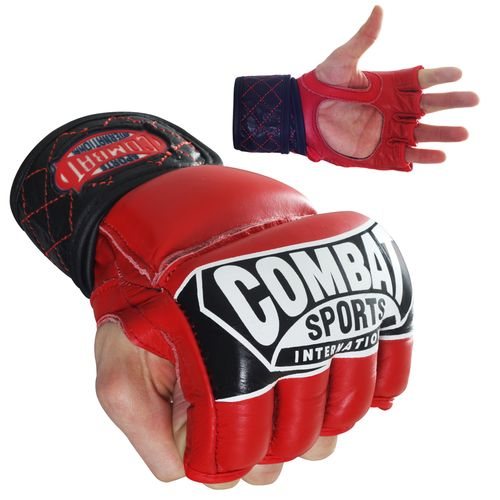 Combat Sports International Adults' Pro-Style MMA Gloves