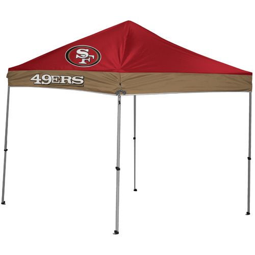 Coleman® San Francisco 49ers 9' x 9' Straight-Leg Canopy