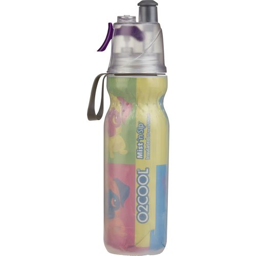 O2 COOL Insulated ArcticSqueeze Mist 'N Sip 20 oz Water Bottle