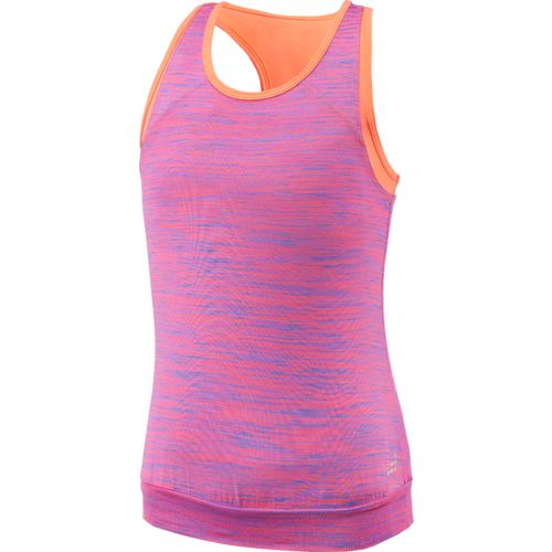 BCG Girls' Twofer Space Dye Tank Top