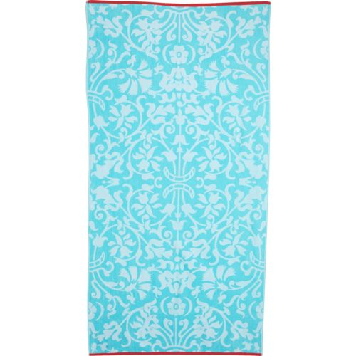 O'Rageous® Damask Jacquard Beach Towel
