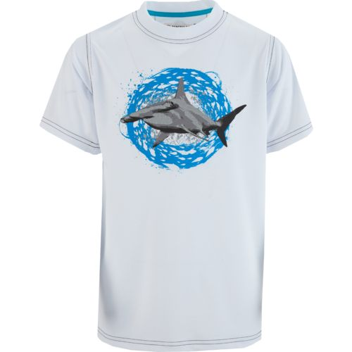 Magellan Outdoors Boys' Reflective Hammerhead Shark Graphic T-shirt - view number 1