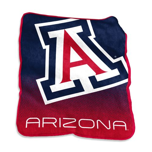 Logo University of Arizona 50 in x 60 in Raschel Throw