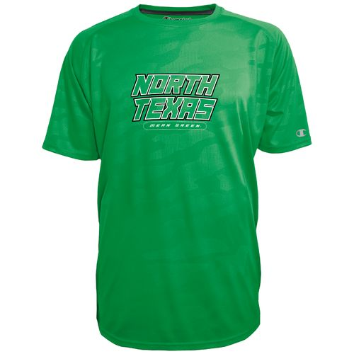 Champion™ Men's University of North Texas Impact Embossed T-shirt