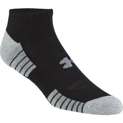 Under Armour HeatGear Tech No-Show Socks 3 Pack