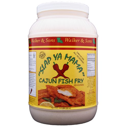 Slap ya mama 1 gallon cajun fish fry seasoning academy for How to season fish for frying