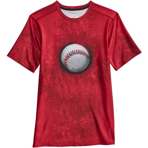 BCG Boys' Short Sleeve Baseball T-shirt