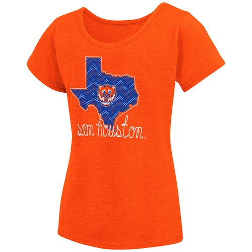 Colosseum Athletics™ Girls' Sam Houston State University Tissue 2017 T-shirt