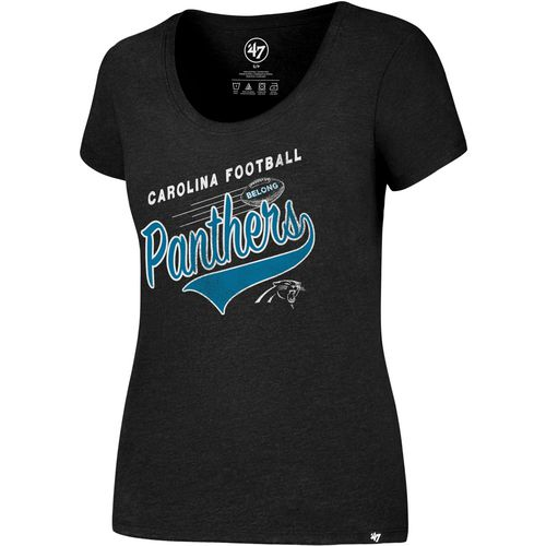 '47 Carolina Panthers Women's Knockaround Jet T-shirt