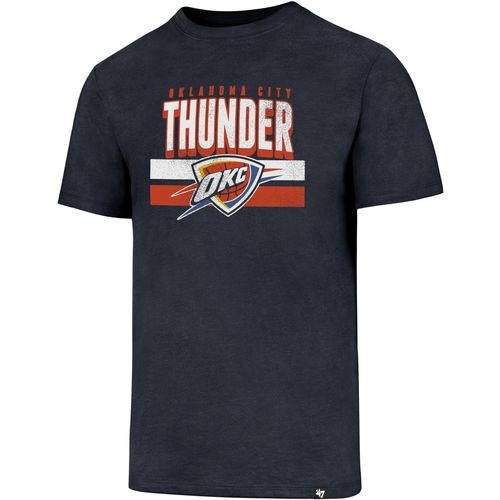 '47 Men's Oklahoma City Thunder Stripes Knockaround Club T-shirt