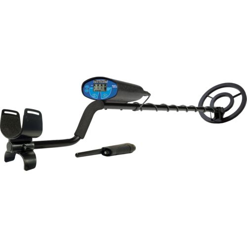 Bounty Hunter Quick Silver Metal Detector with Pinpointer - view number 1