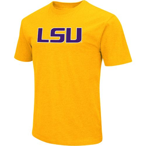 Colosseum Athletics Men's Louisiana State University Logo Short Sleeve T-shirt