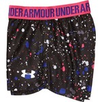 Under Armour Girls' Splatter Play Up Short - view number 4