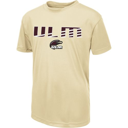 Colosseum Athletics Boys' University of Louisiana at Monroe Team Stripe T-shirt