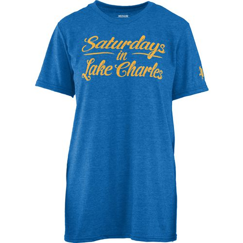 Three Squared Juniors' McNeese State University Saturday T-shirt