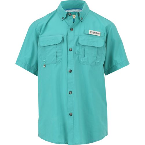 Display product reviews for Magellan Outdoors Boys' Laguna Madre Short Sleeve Top