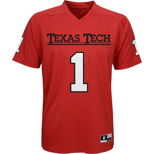 Gen2 Boys' Texas Tech University Football Jersey Performance T-shirt
