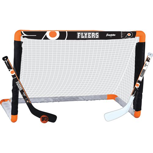 Franklin Philadelphia Flyers Mini Hockey Goal Set