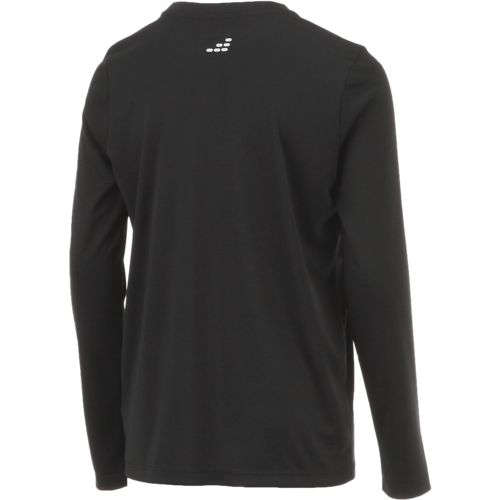 BCG Boys' Solid Turbo Long Sleeve T-shirt - view number 2