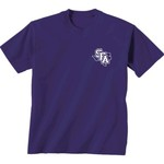 New World Graphics Women's Stephen F. Austin State University Comfort Color Initial Pattern T-sh - view number 2