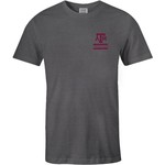 Image One Men's Texas A&M University Comfort Color Distressed Flag T-shirt - view number 2