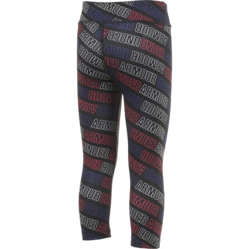 Under Armour Girls' Wordmark Capri Pant - view number 3