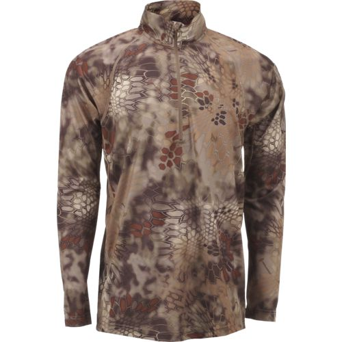 Kryptek Men's Helios Long Sleeve 1/4-Zip Pullover