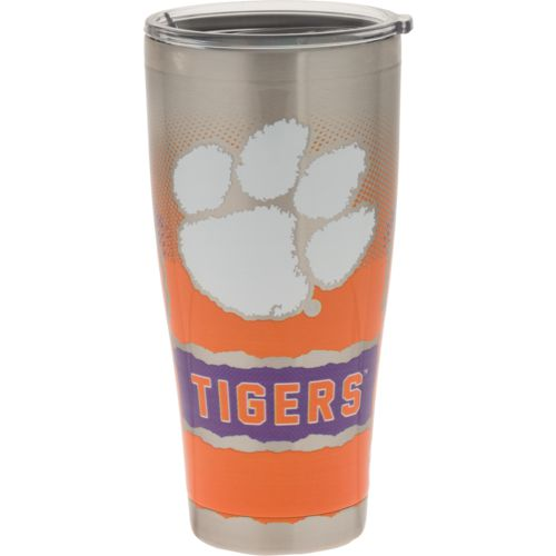Tervis Clemson University 30 oz Knockout Stainless Steel Tumbler