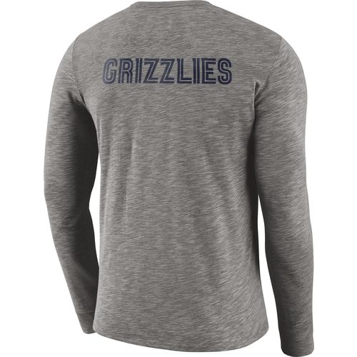 Nike Men's Memphis Grizzlies Facility Long Sleeve T-shirt