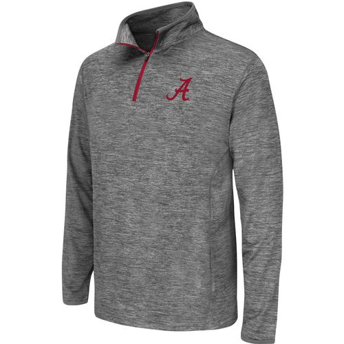 Colosseum Athletics Youth University of Alabama Action Pass 1/4 Zip Wind Shirt